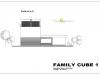 projekt rodinného domu Family cube 1 pohlad 2