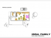 projekt rodinného domu ideal family podorys-prizemia