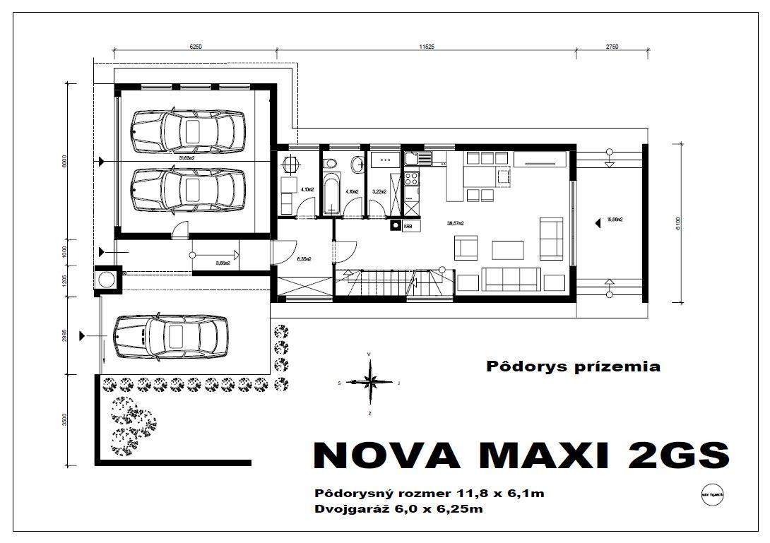 nova-maxi-2gs-podorys-prizemia