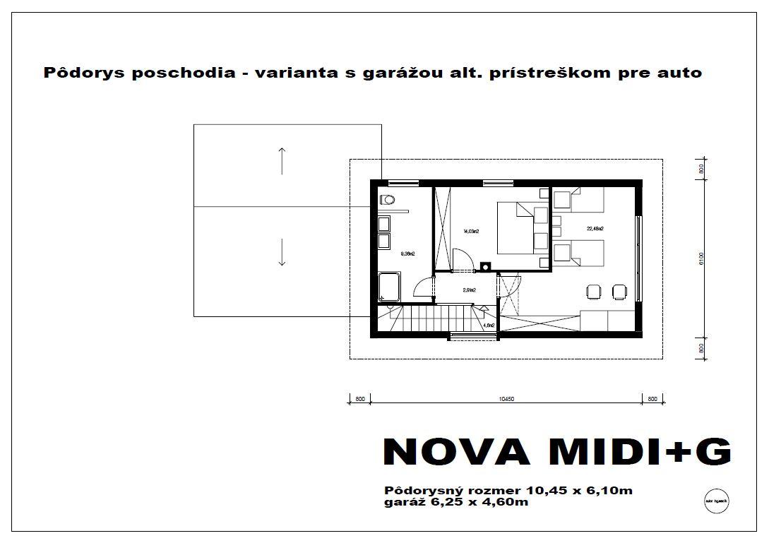 nova-midi-g-p-podorys-poschodia