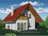 projekt malého domu xm2