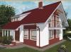 projekt malého domu xm3a