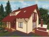 projekt malého domu xm4b