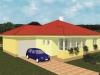 projekt prízemného rodinného domu  xp1