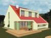 projekt stredne veľkého rodinného domu xs3
