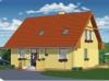 projekt stredne veľkého rodinného domu  xs4a