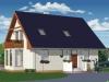projekt stredne veľkého rodinného domu  xs4b