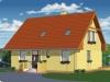 projekt stredne veľkého rodinného domu  xs4f