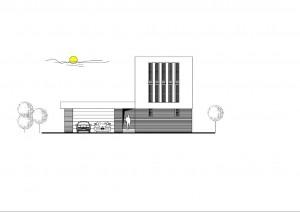 katalógový projekt nízkoenergetického murovaného rodinného domu Family Cube 1