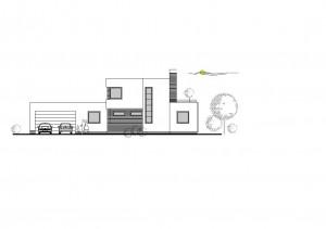 katalógový projekt nízkoenergetického murovaného rodinného domu Family Cube 2
