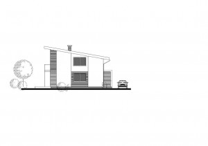 katalógový projekt nízkoenergetického murovaného rodinného domu Family Idea S