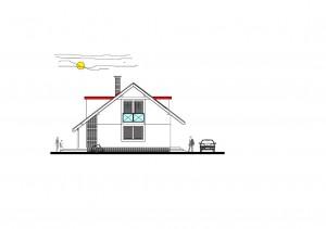 katalógový projekt nízkoenergetického murovaného rodinného domu Family Idea