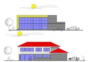 Projekt rodinného domu Family Optima vo dvoch verziách