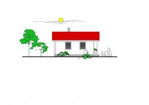 katalógový projekt nízkoenergetického murovaného rodinného domu Garden Family