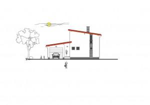 katalógový projekt nízkoenergetického murovaného rodinného domu Junior Family City