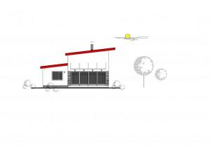 katalógový projekt nízkoenergetického murovaného rodinného domu Vila Family 1
