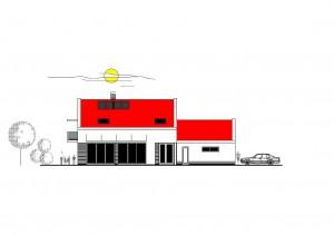 katalógový projekt nízkoenergetického murovaného rodinného domu Vila Family 2