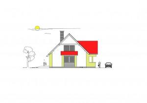katalógový projekt nízkoenergetického murovaného rodinného domu Vila Family 4