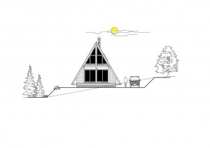 Projekt horskej chaty 3U