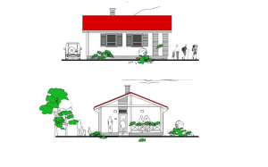 katalóg projektov rodinných domov